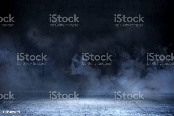 Photo of Room with concrete floor and smoke