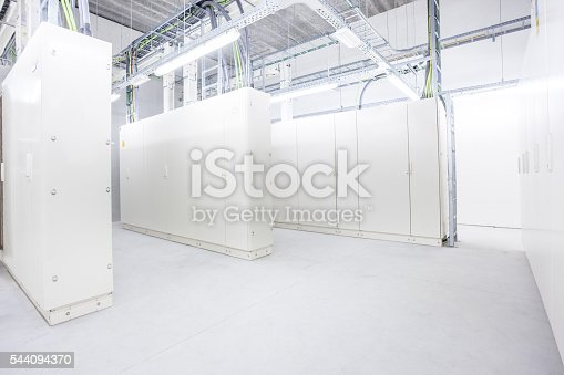 istock room with electrical boxes 544094370