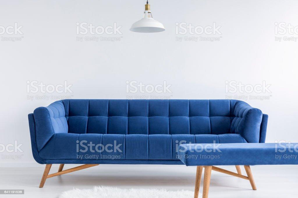 Zimmer mit Sofa vintage – Foto