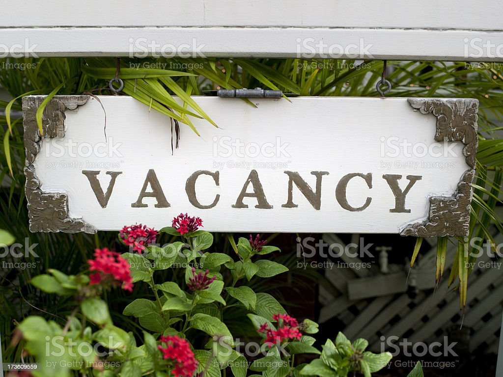 Rooms available royalty-free stock photo