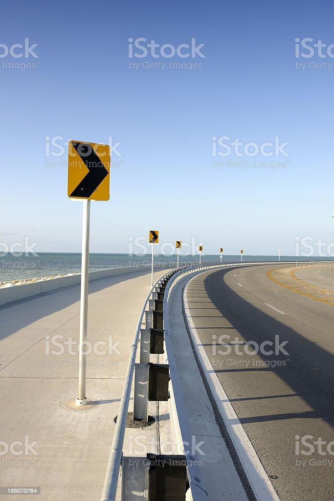 Roosevelt Boulevard Key West Florida royalty-free stock photo