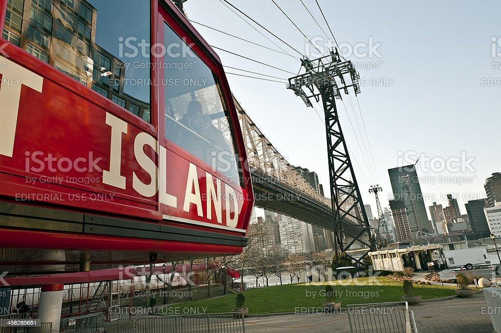 Roosevelt Island stock photo