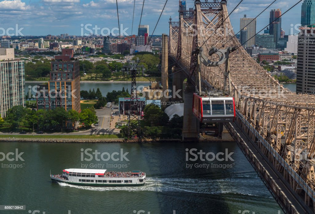 Roosevelt Island Tram. stock photo