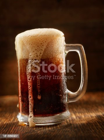 Old Fashion mug of Root beer   - Photographed on Hasselblad H3D2-39mb Camera