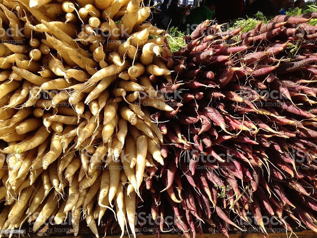 Root Crops Union Square Market Nyc Stock Photo - Download Image Now