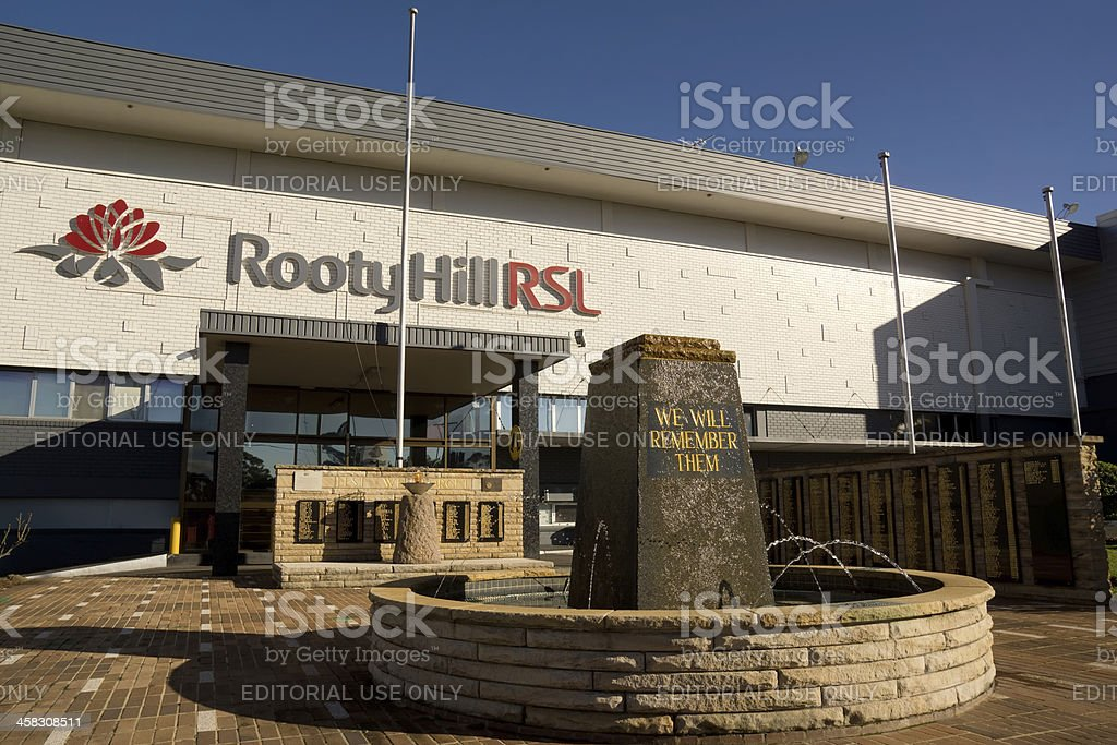 Rooty Hill RSL royalty-free stock photo