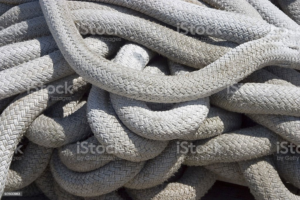 Rope 2 royalty-free stock photo