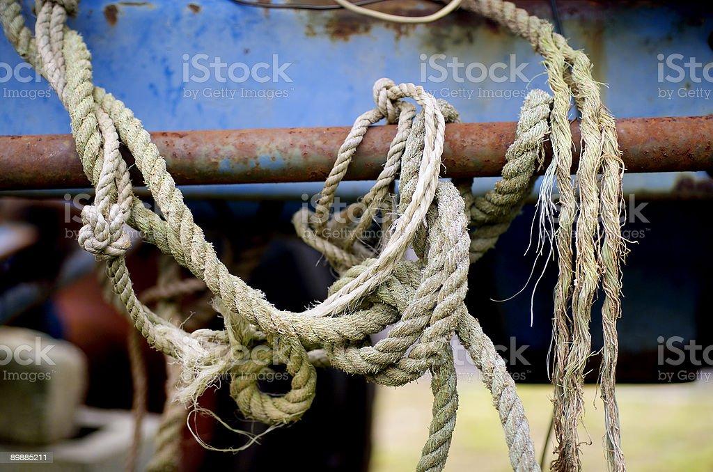 Seil abstrakte Lizenzfreies stock-foto