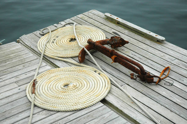 Rope & Anchor stock photo