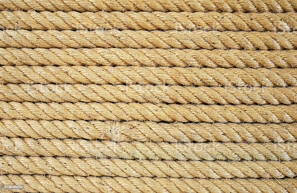 Rope background texture stock photo