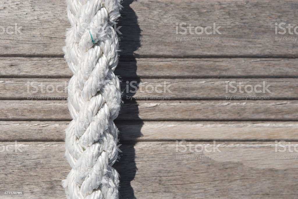 Rope Close-up Abstract royalty-free stock photo