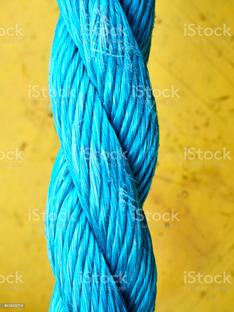 Rope Closeup stock photo