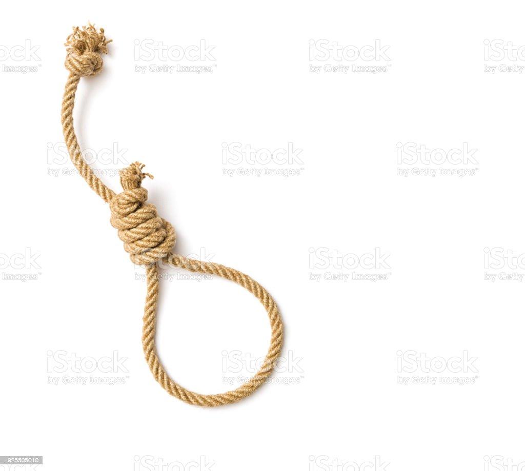 Rope, Hanging noose stock photo