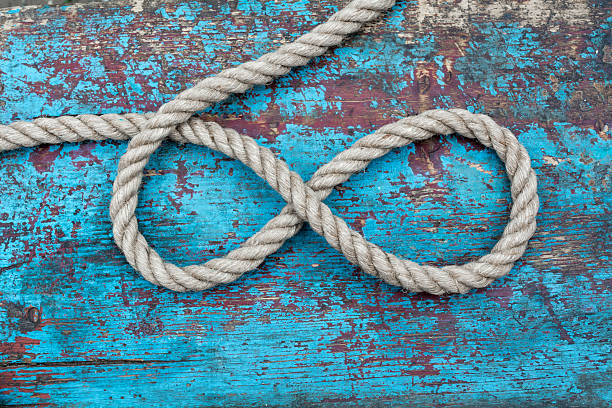 rope infinity - number 8 stock pictures, royalty-free photos & images