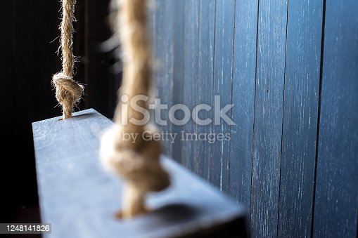 istock Rope Ladder side view 1248141826