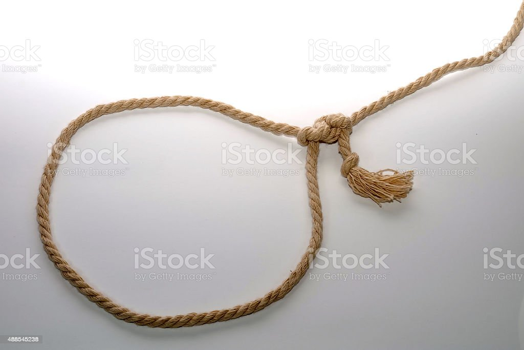 rope loop stock photo