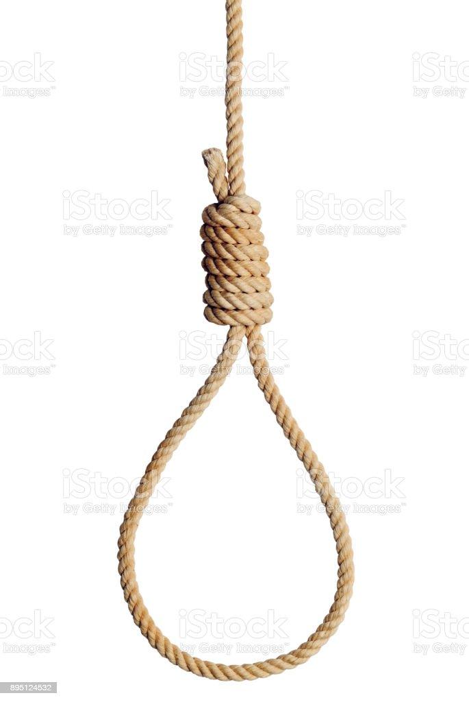 Rope Noose stock photo