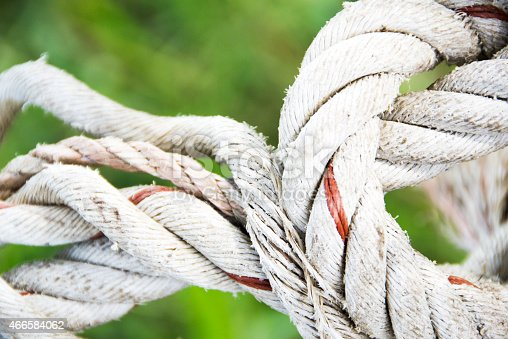 istock rope on green background 466584062