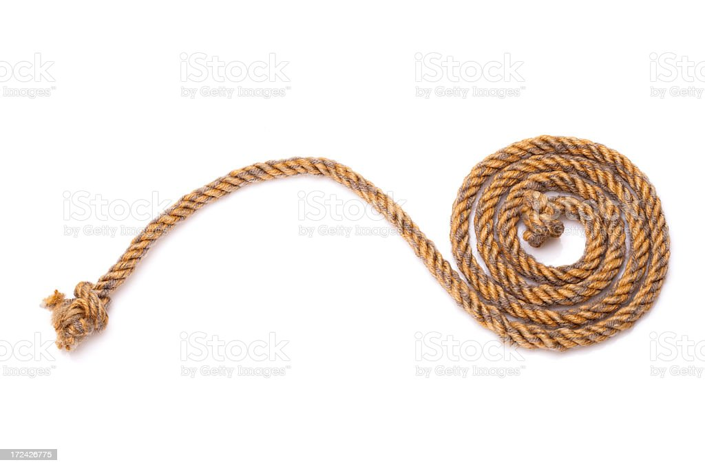 rope royalty-free stock photo