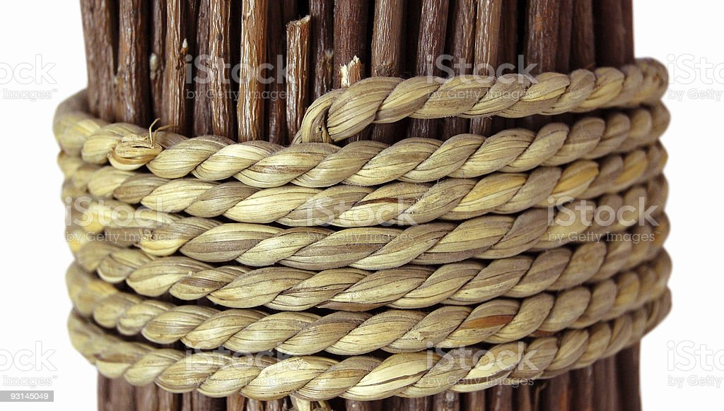 Rope - Royalty-free Branch - Plant Part Stock Photo