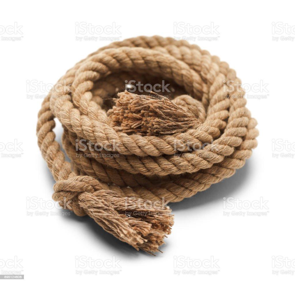 Rope Pile stock photo