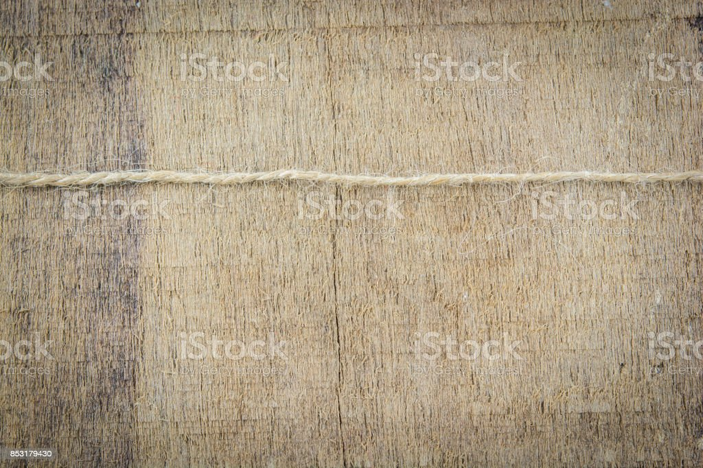 rope plane orientation on wooden stock photo