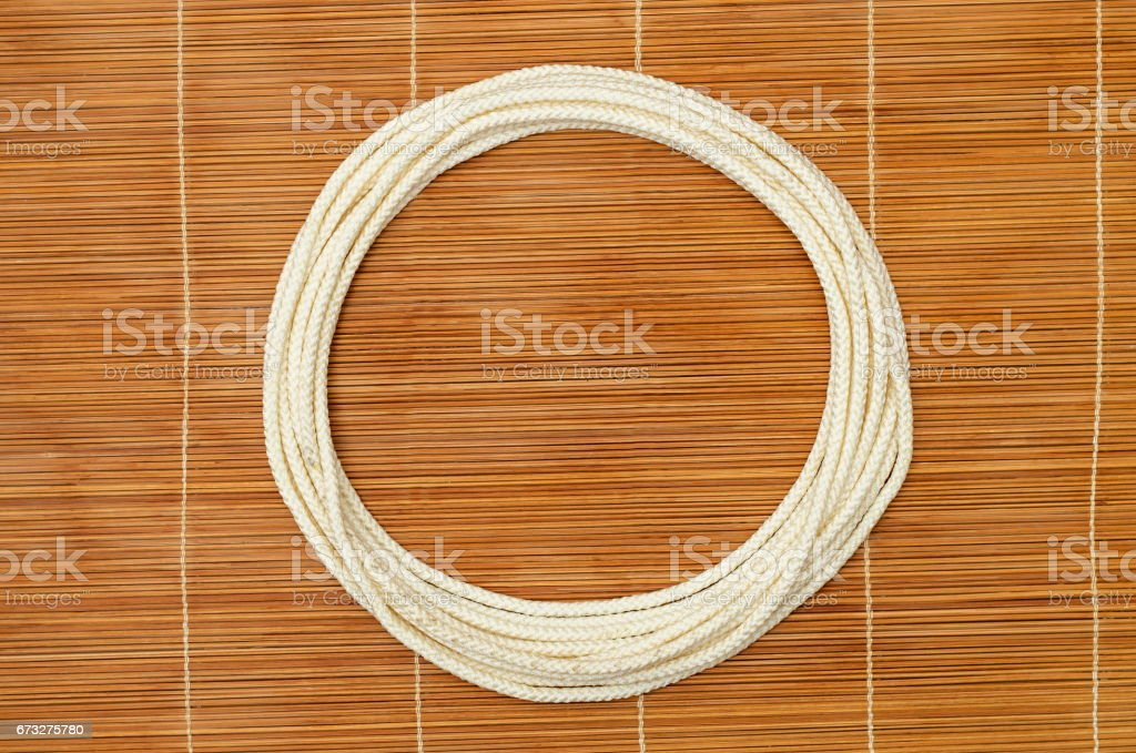 Rope ring royalty-free stock photo