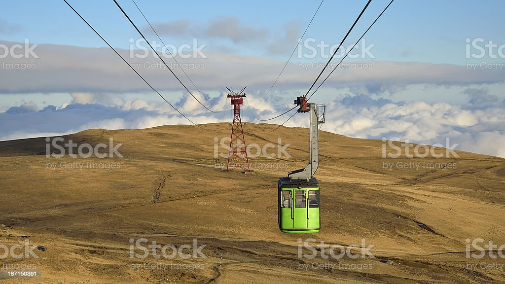 Rope road royalty-free stock photo