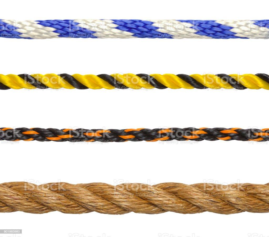 Rope Segments stock photo