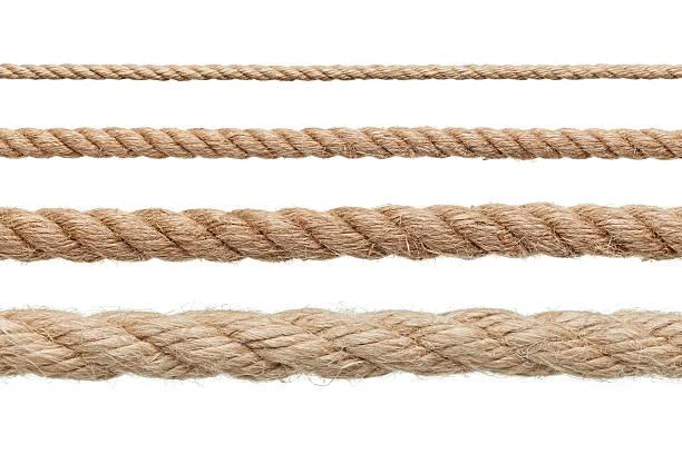 веревки на завязках - верёвка стоковые фото и изображения