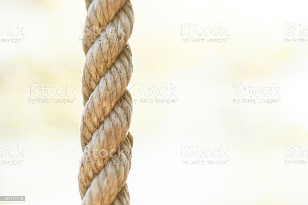 Seil-Textil-Hintergrund - Lizenzfrei Abstrakt Stock-Foto