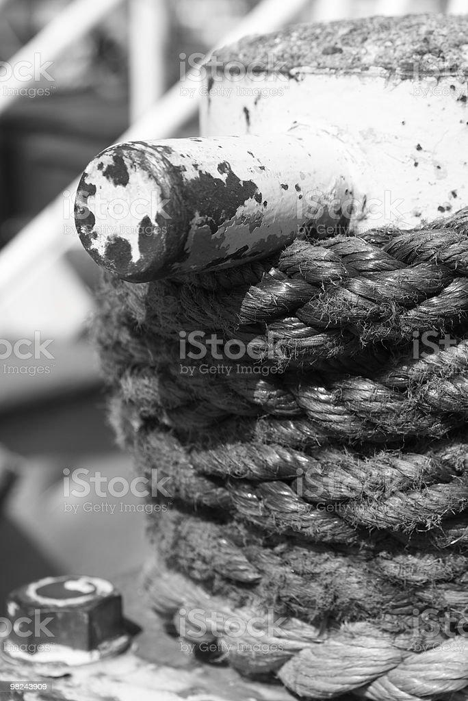 Rope Tie royalty-free stock photo