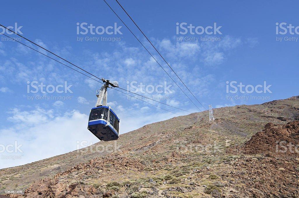 Seil Weg zum Vulkan Teide – Foto