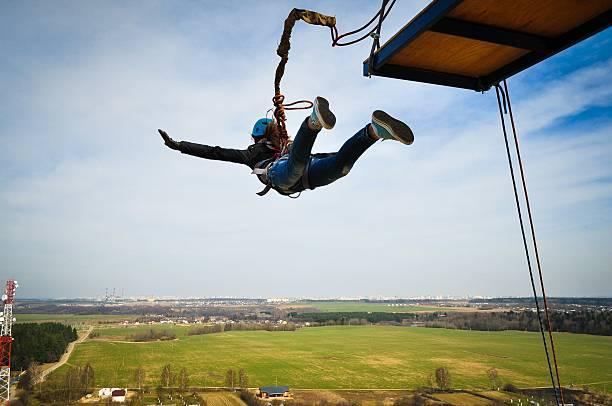 ef9c341aeeb8 Top Bungee Jumping Stock Photos