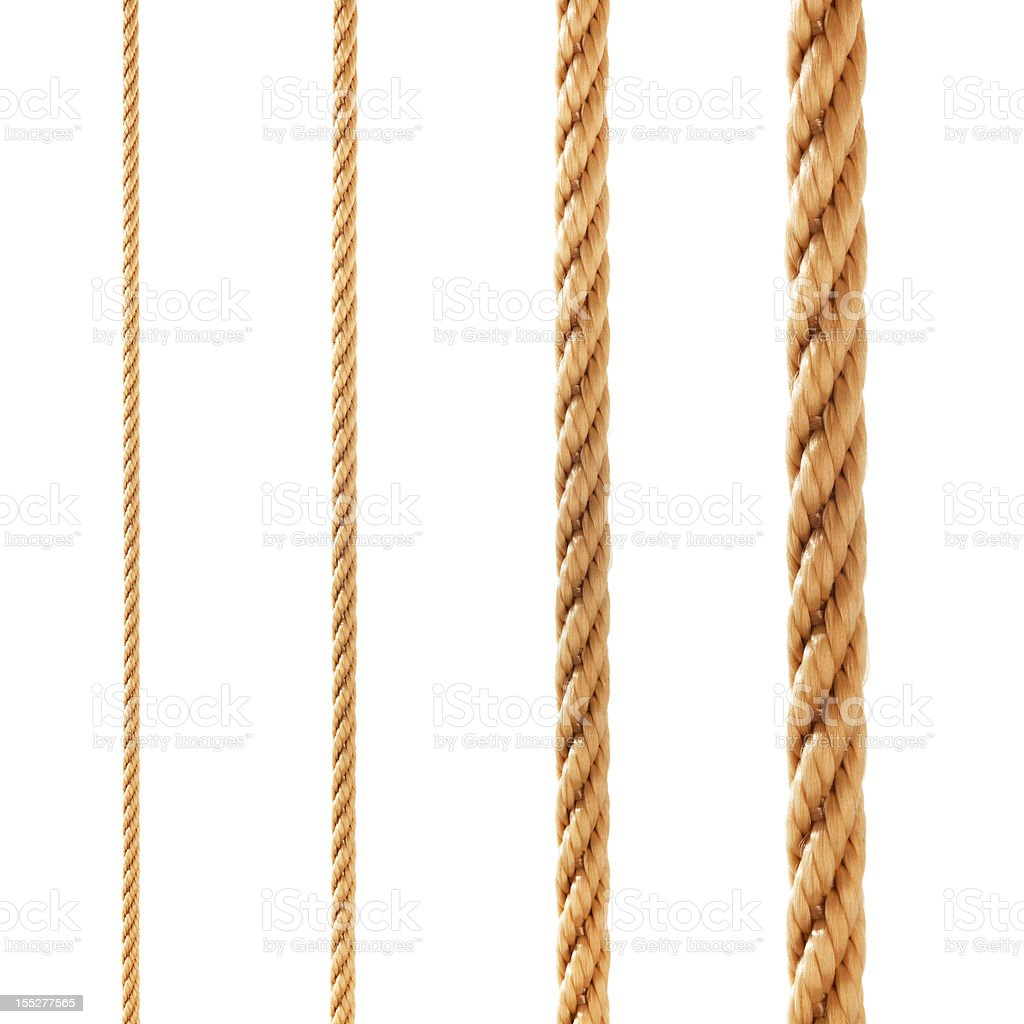 Ropes. stock photo