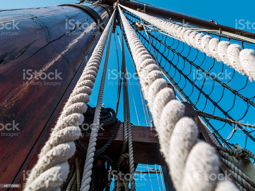 Ropes stock photo