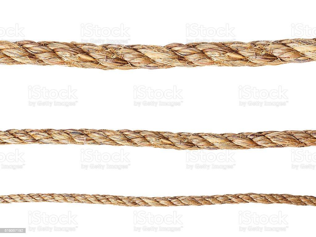 Ropes stock photo