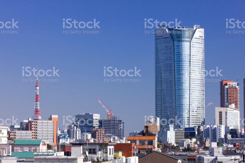 Roppongi building stock photo