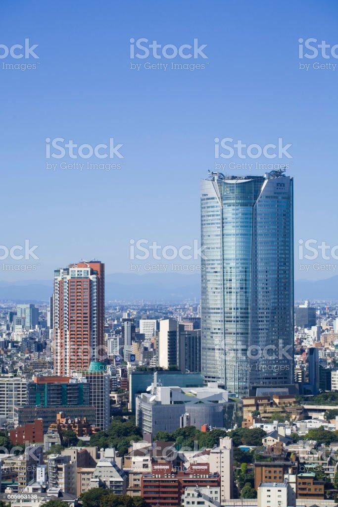 Roppongi Hills stock photo