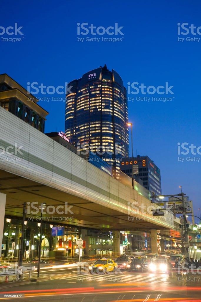 Roppongi stock photo
