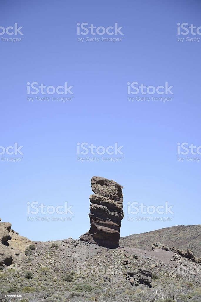 Roque Cinchado, Tenerife royalty-free stock photo