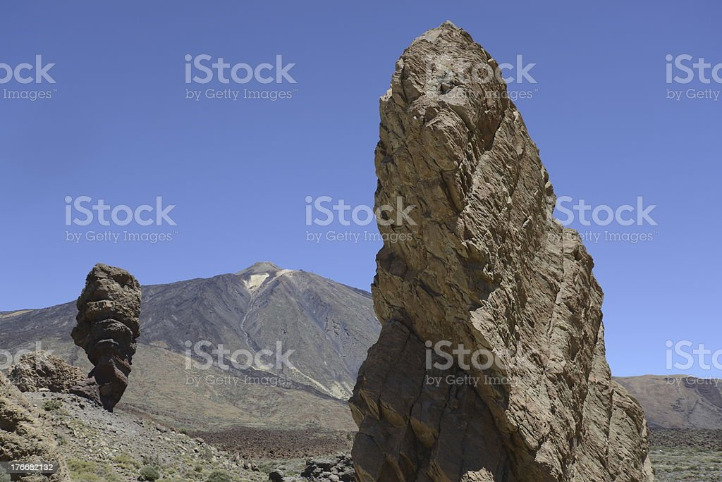 Roques de Garcia, Tenerife royalty-free stock photo