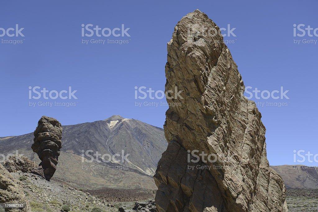Roques de Garcia, Tenerife royalty-free stock photo