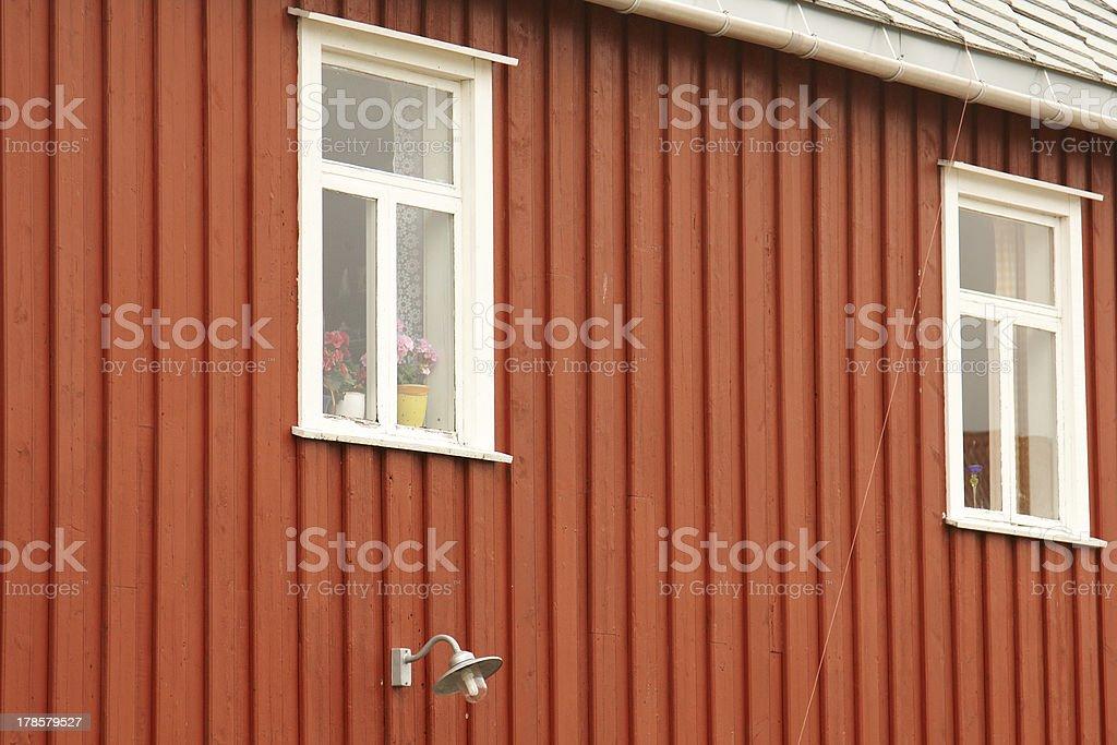 Rorbu Cabin royalty-free stock photo