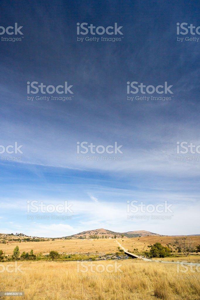 Rorke's Drift in KwaZulu-Natal, South Africa stock photo