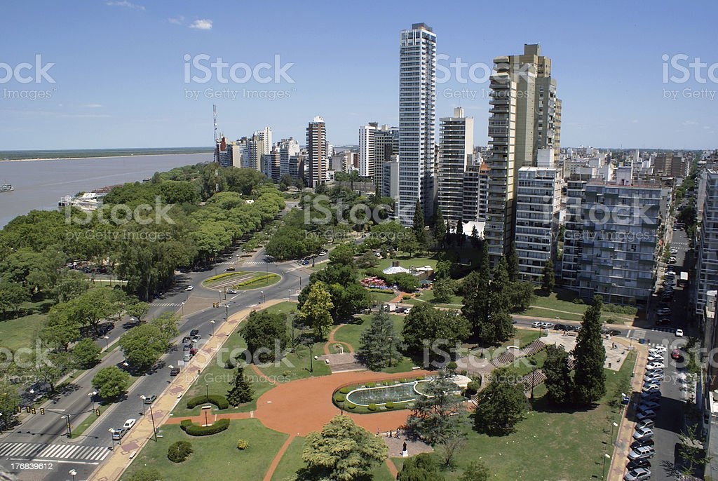 Rosario, Santa Fe, Argentina stock photo