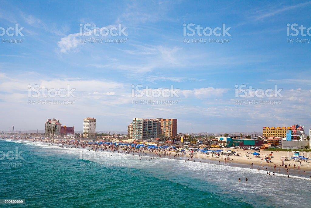 Rosarito Beach- Mexico stock photo