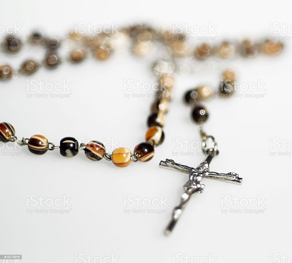 Rosary Necklace royalty-free stock photo
