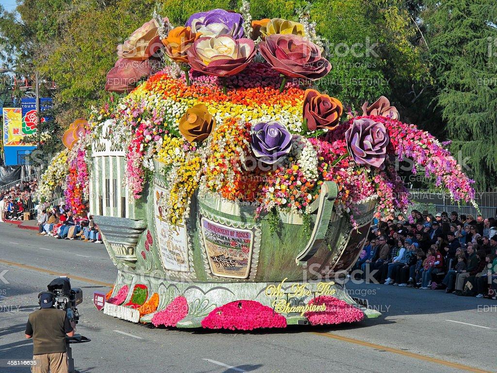 Rose Bowl Parade on January 1, 2010 stock photo