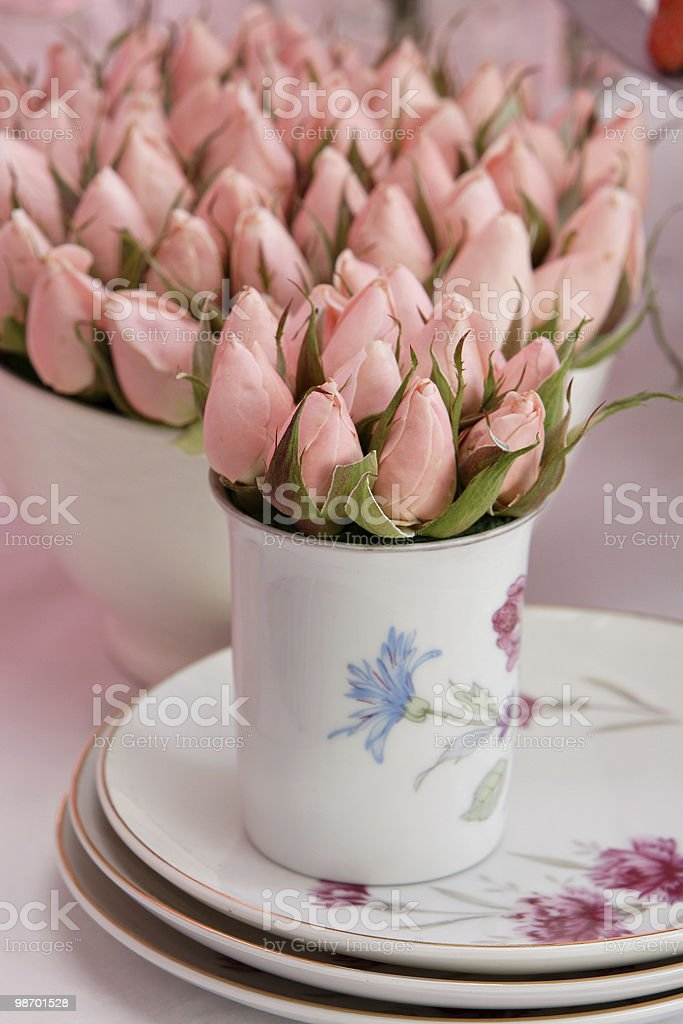 rose bud bouqet royalty-free stock photo
